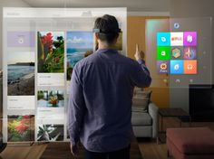 Project HoloLens: Our Exclusive Hands-On With Microsoft's Holographic Goggles |   MICROSOFT  | WIRED.com
