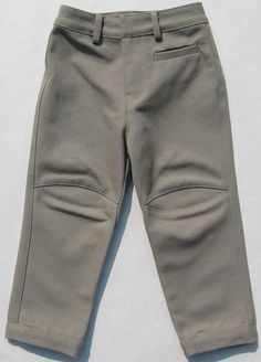 Bira Biro Grey_Canvas_Kids_Pants