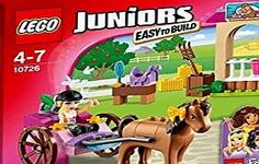 LEGO® Juniors Stephanie's Horse Carriage Friends Set New, Sealed. LEGO® DUPLO® sets have larger pieces which are specially designed for children under Lego Junior Sets, Legos, Lego Dino, Lego Duplo Sets, Lego Friends Sets, Lego Juniors, Camping Set, Lego City Police, Baby Horses