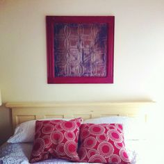 Gorgeous commissioned work by contextreclaimed.ca (by Mike O'Neill).  FYI he made the headboard too!  I love both!