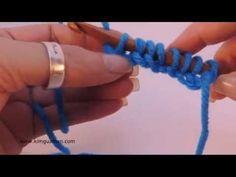 Tunisian Crochet: Crochet Cast On che mito, due uncinetti per un lavoro di maglia