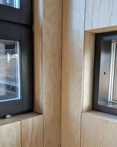 Corner details.  #timberpanelling  #timberpanels  #timberwoodpanels  #woodenwall  #woodenwalls  #plywoodwalls  #plywood  #plywooddesign…