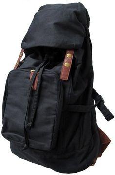 Carrot Au-10401 Vintage Canvas Backpack « Clothing Impulse
