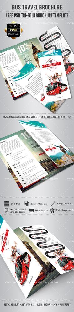 Travel Agency Free Brochure Psd Template Free Brochure Psd