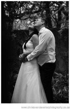 A romantic image from classic wedding photographs Casa Mia Pretoria.