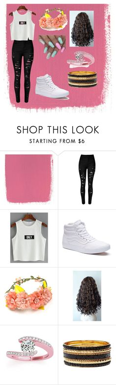 """""""She In Shine Out"""" by nadian-holloway ❤ liked on Polyvore featuring Vans, Allurez and Charlotte Russe"""
