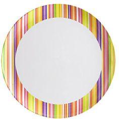 "Zak Designs Trellis 10"" Melamine Dinner Plate on shopstyle.com"