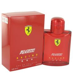 New #Fragrance #Perfume #Scent on #Sale  Ferrari Scuderia Racing Red by Ferrari 4.2 oz EDT Spray - Live life in the fast lane by wearing Ferrari Scuderia Racing Red, an exciting olfactory adventure in a bottle from the design house of Ferrari. First released in 2013 for Ferrari enthusiasts around the globe, this spicy masculine scent for men features a citrusy blast of lime combined with spicy pepper and an elegantly mannish upscale blend of clary sage, lavender and Artemisia. Wear it to rev…