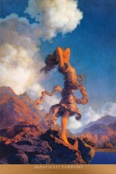Maxfield Parrish, an artist of the Golden Age of Illustration