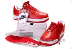 Nike Air Force 1 Low Red White Red Copuon Code