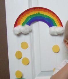 Rainbow st patties day