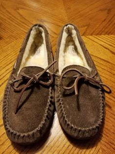 a0f48b3bf UGG Australia 5612 Dakota Brown Slippers Women s Size 9 nice!  fashion   clothing