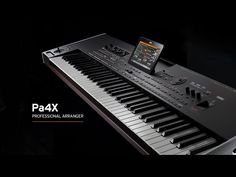 Video | Pa4X PROFESSIONAL ARRANGER | Sintetizatoare | KORG