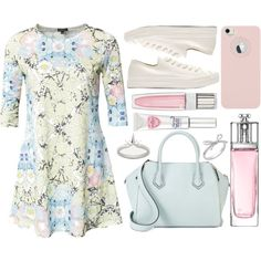 street style by sisaez on Polyvore featuring River Island, Neil Barrett, Rebecca Minkoff, Meadowlark, Lord & Taylor, Lancôme and Christian Dior