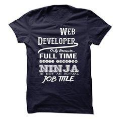 Ninja Web Developer T-Shirt T Shirt, Hoodie, Sweatshirt
