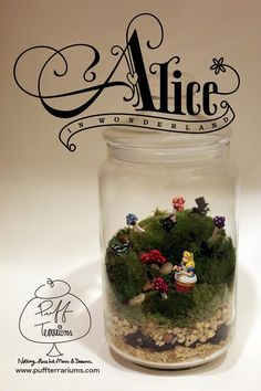 Alice in Wonderland with Puff