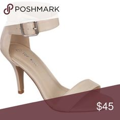 c86966e1b5 🦋Bare Minimum Ankle Strap Sandal In Nude Size 8🦋 🦋Elegant, clean and