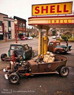 ◆ Visit MACHINE Shop Café ◆ (Living the Rat Rod Life is Fun)