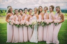 Spring Wedding - Strapless Lace Wedding Dress - Pale Pink Wedding Color - Stella York Gown - Ashley Grace Bridal