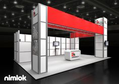 Nimlok creates and constructs trade show exhibits and custom modular displays. For Grenzebach, we built a large-scale booth solution to meet their marketing needs.