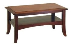 Winsome Wood Craftsman Coffee Table, Antique Walnut --- http://www.pinterest.com.itshot.me/7kd