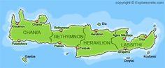 political divisions of crete