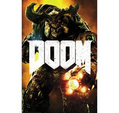 Doom 4 Poster Key Art Cyber Demon. Hier bei www.closeup.de