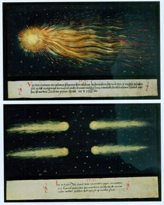 #antique #illustrations #astronomy #science #comets
