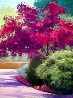 Deborah Secor Springtime Reds