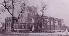The finished product of (Alumni Gym) at Roanoke College in 1930.