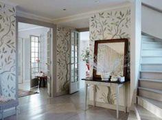 Underbara väggmålningar Sköna Hem bjuder på ögonfröjd!