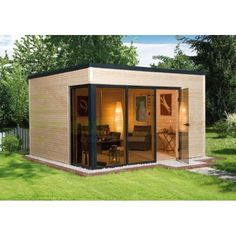 Totally Inspiring Backyard Studio Office Décor Ideas Did you know that some of the more modern sheds are designed for more than just storage? And these sheds […] Backyard Office, Backyard Studio, Garden Studio, Garden Office, Modern Backyard, Spa Studio, Backyard Ideas, Garden Ideas, Bungalow