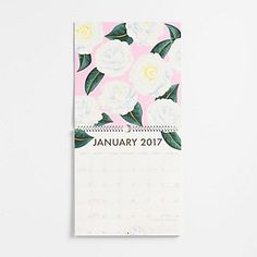 Paper Source Art Grid Calendar 2017