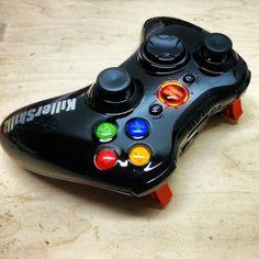 Black Ops II Themed Xbox 360 Controller - KwikBoy Modz #blackops #callofduty #blackopsii #blackops2 #modsticks #customcontroller #arbiter3 #moddedcontroller #xbox360 #customxbox360controller