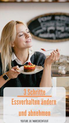 Essverhalten ändern! Du willst abnehmen ohne Diät? Möchtest Du frei von Diätzwangen leben? Willst du ein gesundes Essverhalten erleben? Lerne in diesem Video wie du mit einer Formel in 3 Schritten gesund und normal essen und genießen kannst. Frei von Diäten, Verboten und Heißhunger Attacken. Du kannst ganz nebenbei abnehmen und emotionales Essen für immer auflösen.