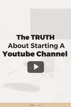 Want to get started with YouTube? In this video I\'m sharing with you 3 pieces of YouTube advice if you are a YouTube beginner to get more views and subscribers.  These YouTube tips won\'t magically get you a thousand subscribers over night but they will help you learn how to do YouTube and a path for you to get started! #youtubetips #youtube #entrepreneur #trenalittle #youtubevloggers #youtubevideo #bloggingtips #vlogger #VideoMarketing #videocontent