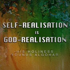 The Official MFI® Blog: Quote of the Day: Self-realisation is...