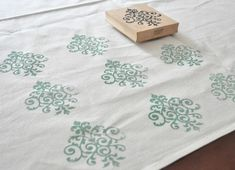 begin stamping. I want to try this. Good craft to try and possible gifts.
