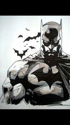 Batman tattoo idea