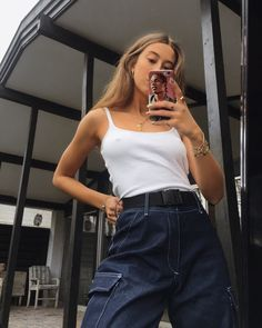 Gli Arcani Supremi (Vox clamantis in deserto - Gothian): Cool girls aesthetics and style Cool Outfits, Summer Outfits, Fashion Outfits, Trendy Outfits, Looks Style, Style Me, Selfie Foto, Inspiration Mode, Fashion Killa