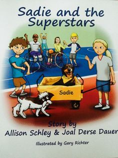 "Such a sweet interview by Mandy Barnett about Sadie's book ""Sadie and the Superstars"". Thank you, Mandy!  http://mandyevebarnett.com/2015/02/16/interview-with-joal-derse-and-an-inspiring-dog-called-sadie/"