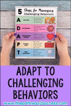 Managing Challenging Behaviors