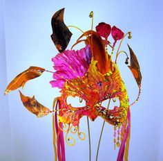 Sunset in New Mexico Masquerade Mask by Judith Rauchfuss