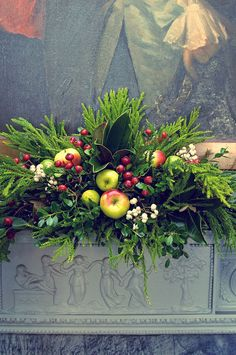 Image result for church window xmas arrangement