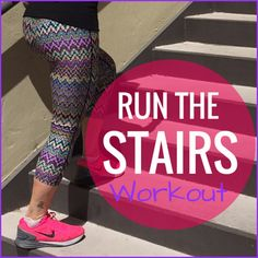 Try 8 different moves in this ultimate run the stairs workout! Build strength and power in your lower body while your heart rate soars! Fitness Tips, Fitness Motivation, Fitness Goals, Free Workout Plans, Stairs Workout, Easy Workouts, Exercise Workouts, Workout Tips, Get Healthy