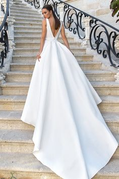 Sleeveless Fit and flare Wedding Dresses gown fit and flare Eva Lendel Wedding Dresses – Angelic Dreams Bridal Collection Fit And Flare Wedding Dress, Perfect Wedding Dress, Wedding Looks, Dream Wedding Dresses, Bridal Dresses, Bridesmaid Dresses, Wedding Robe, Modest Wedding, Bridal Collection