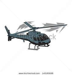 Angled Helicopter