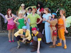 cutest peter pan group costume=Great group theme for homecoming