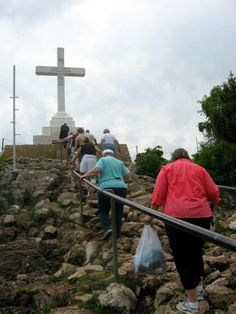 Medjugorje in former Yugoslavia  What a wonderful place! Was at that exact spot in 2010