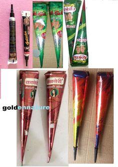 10pc mix cones easy to use henna tattoo kit tattoo ink henna kit mehndi kit #NA